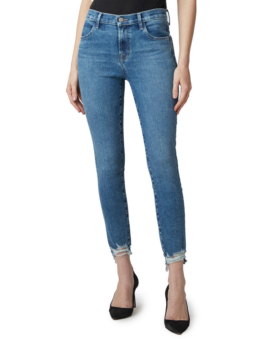 J Brand Alana High Rise Jeans in Project Destruct