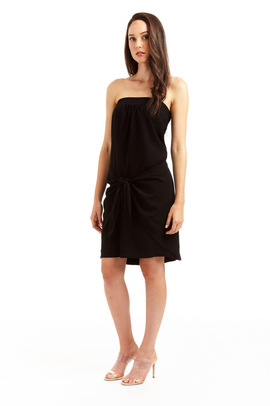 Drew Kaleb Sleeveless Black Dress