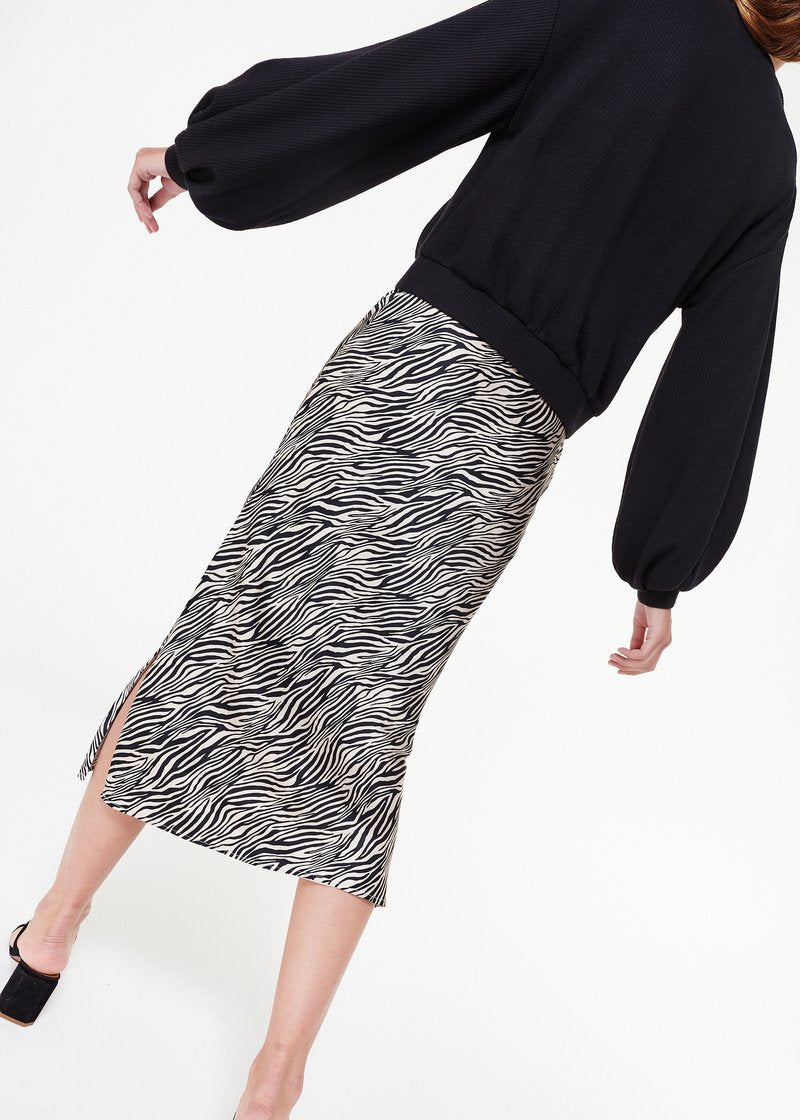 Cami NYC Jessica Skirt in Zebra