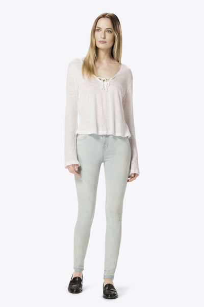 J Brand 620 Mid Rise Super Skinny with Release Hem