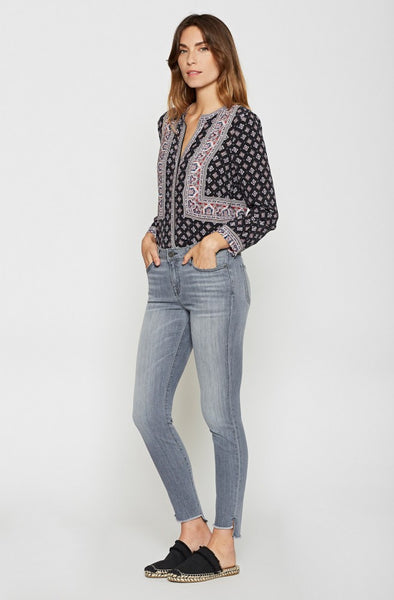 Joie MidRise Ankle Skinny in Cinder