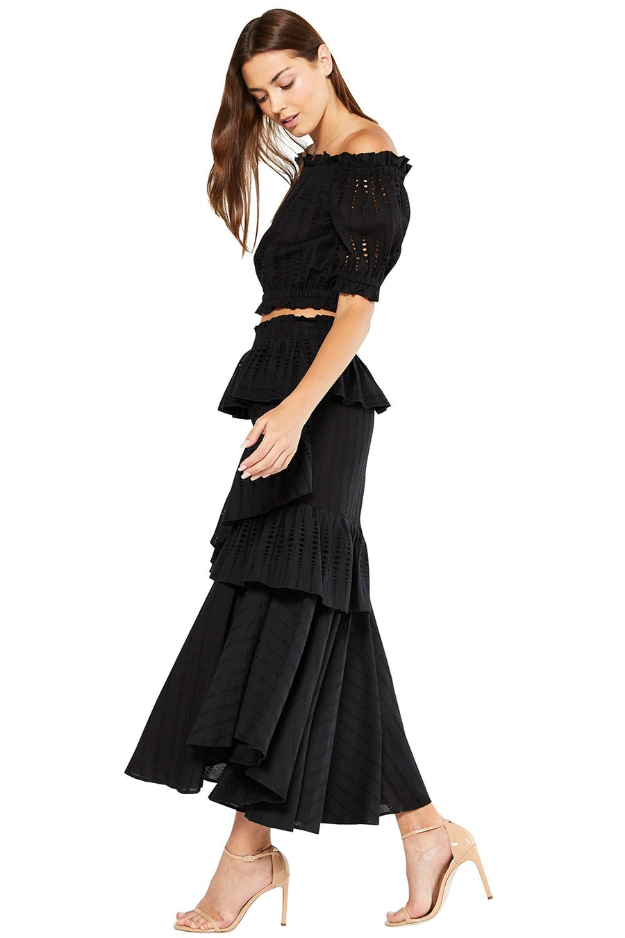 Misa Joseva Skirt in Black