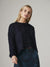 Krisa Crew Neck Sweater in Oxford