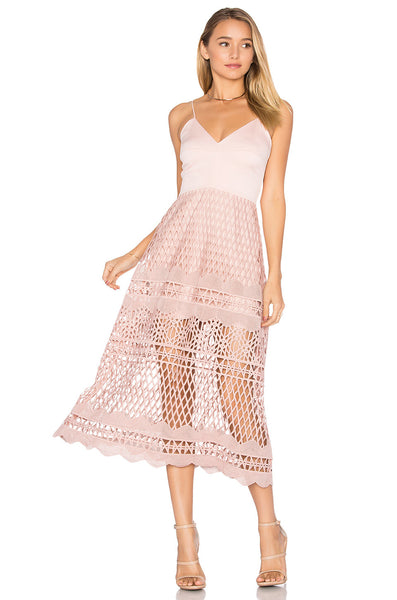 Karina Grimaldi Alice Crochet Dress