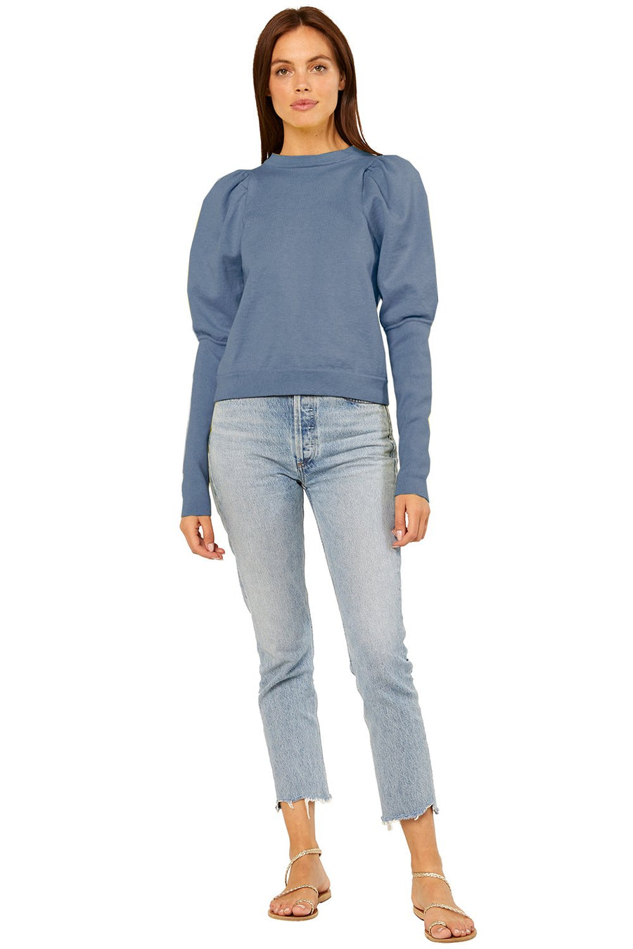 Misa Kali Sweater in Denim