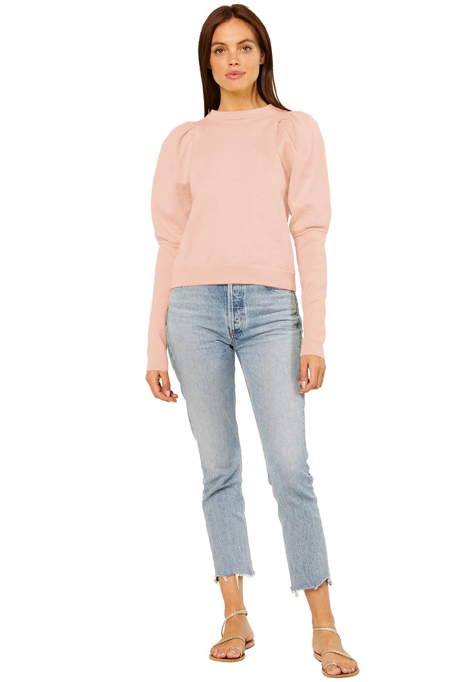 Misa Kali Sweater in Dusty Pink