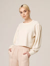 Lanston Drape Sleeve Top in Winter