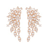 Jen Hansen Large Cluster Earring in Rose Gold