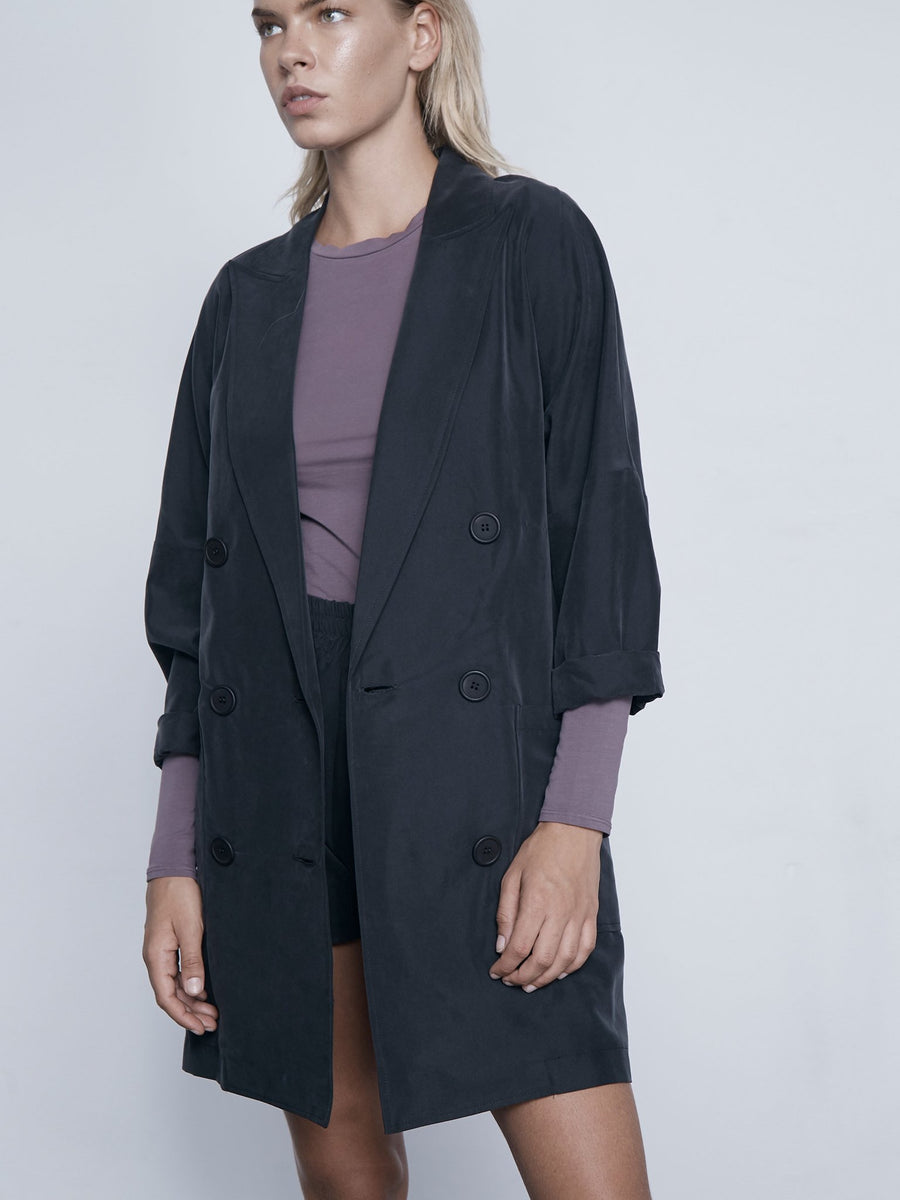 Lanston Oversized Blazer in Black