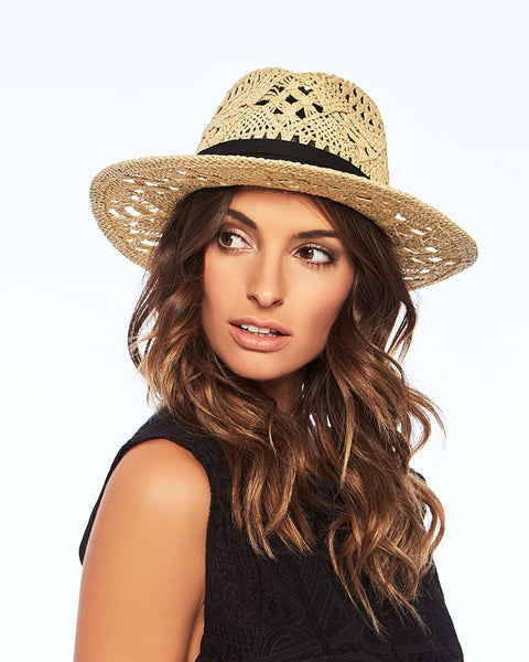 L Space Jet Setter Hat In Natural