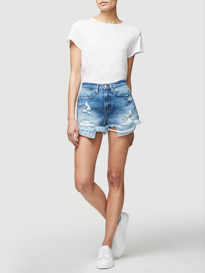 Frame Le Stevie Shorts Peeking Pockets