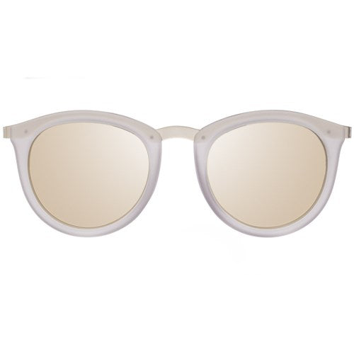 Le Specs No Smirking Sunglass in Mist Matte