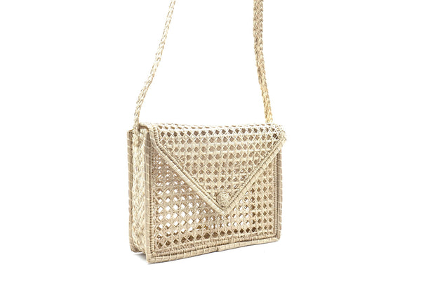 Kanak Martinique Woven Rectangle Bag in Natural