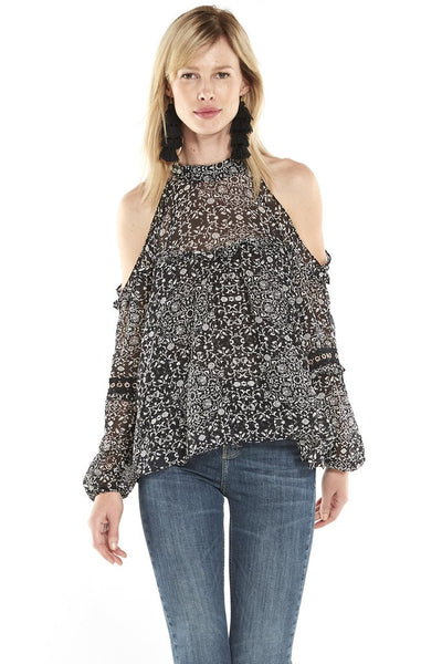 Misa Margarita Ruffle Top
