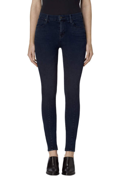 J Brand Maria High Rise Super Skinny in Indigo Ingenious