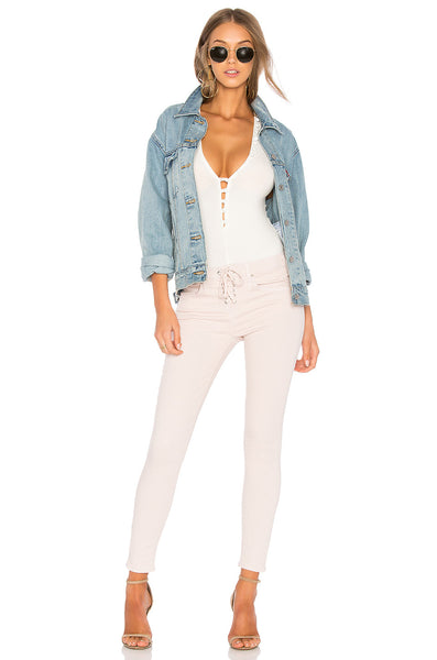 McGuire Cropped Denim In Paulina