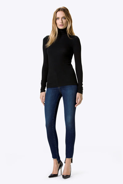 J Brand 811 Mid Rise Skinny with Stepped Hem - Estilo Boutique