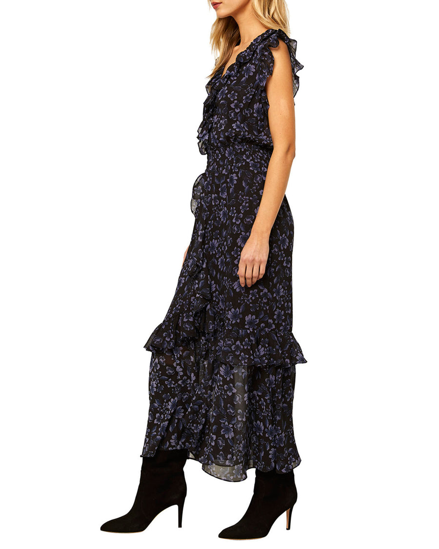Misa Kidada Dress in Midnight Floral