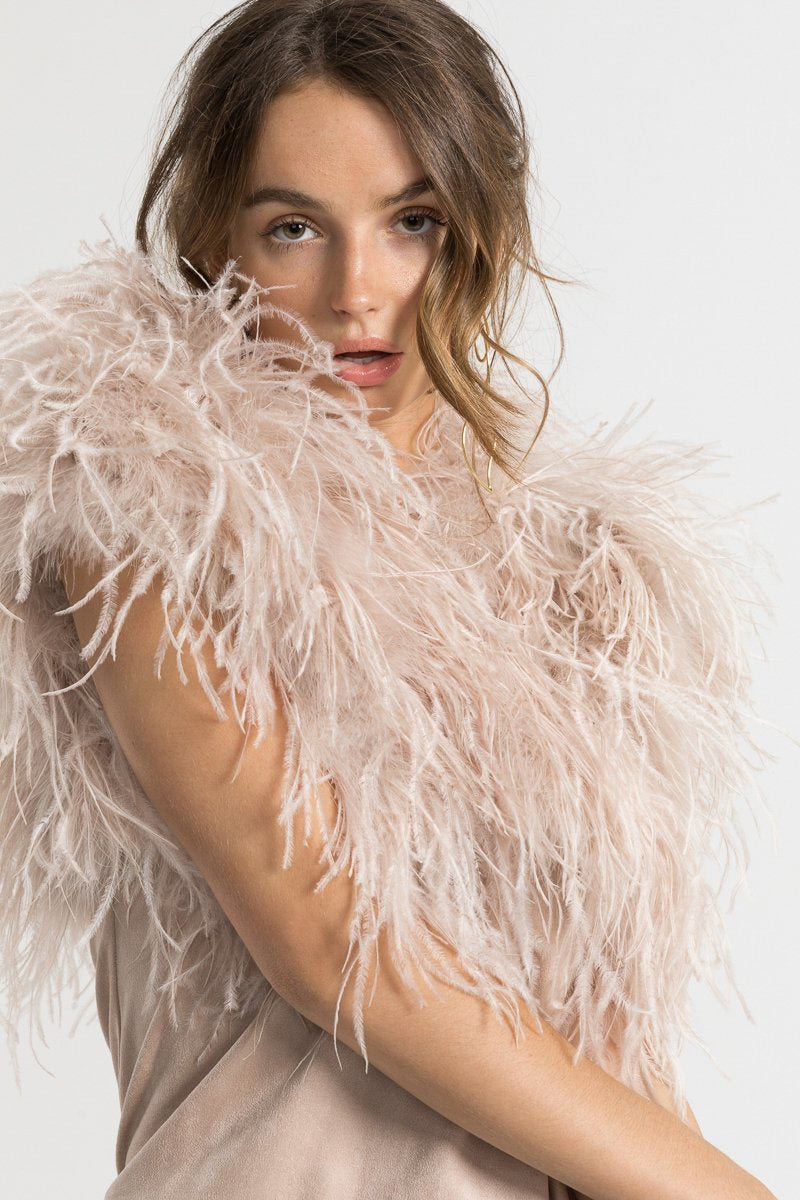 Bubish Berlin Feather Bolero