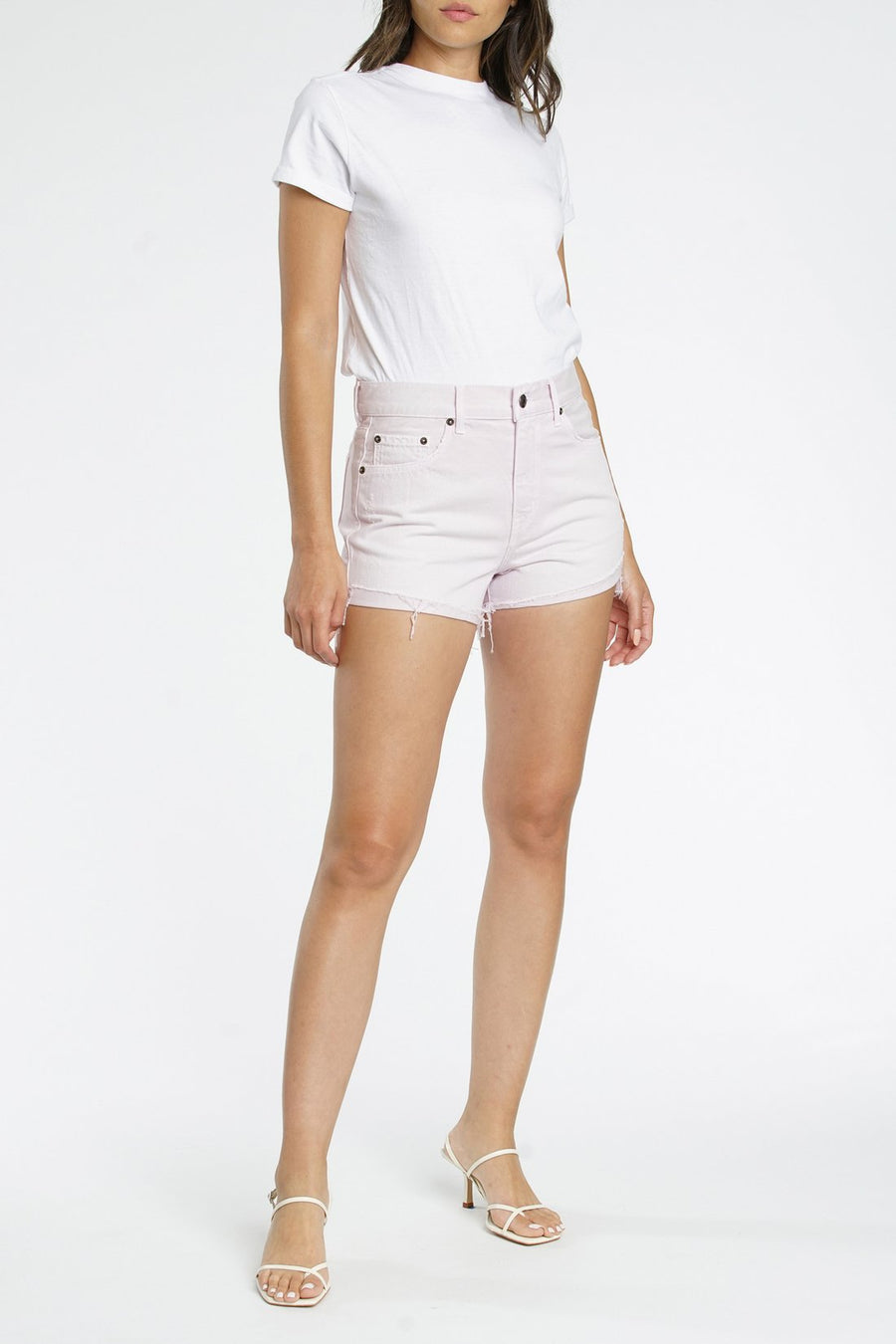 Pistola Relaxed Cutoff Shorts in Melrose