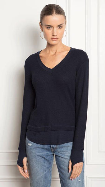 Feel The Piece Palermo Top In Navy
