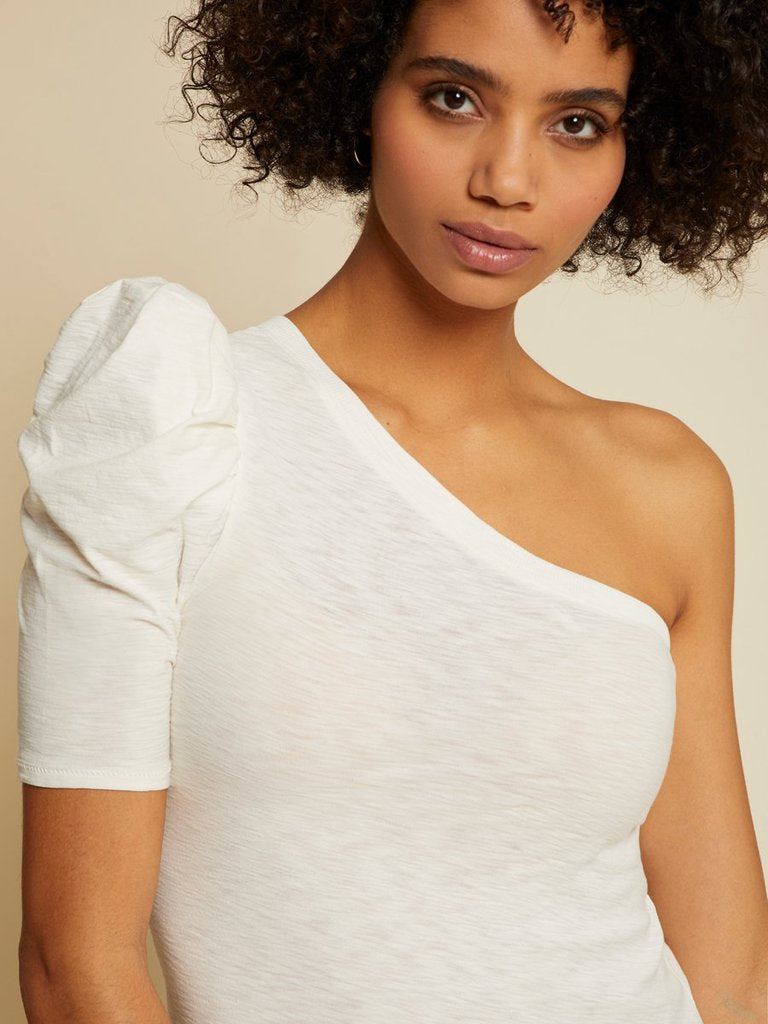 Nation Paulina One Shoulder Top