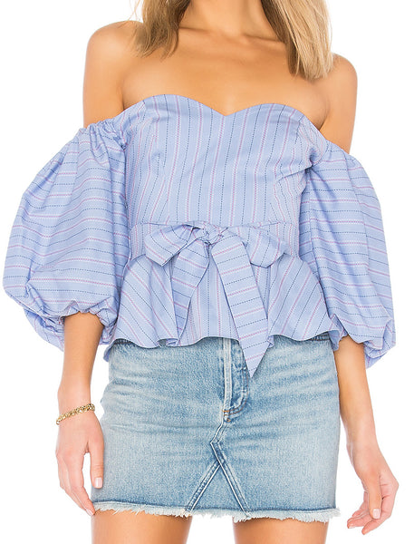 Parker Brunella Blouse in Lilac Breeze