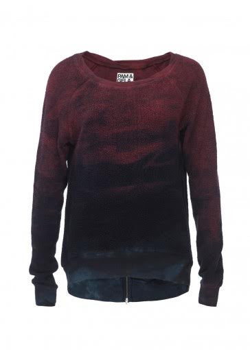 Pam & Gela Inside Out Horizon Wash Sweatshirt - Estilo Boutique