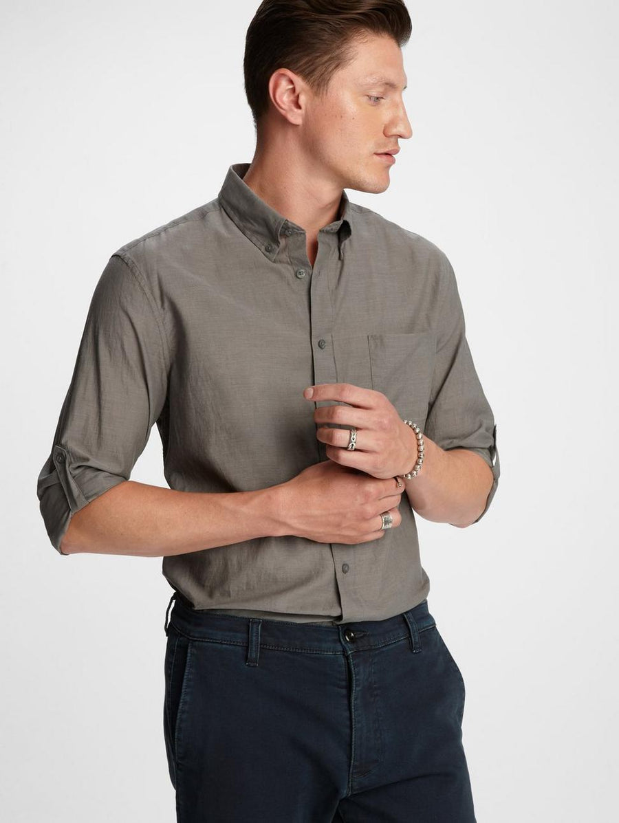 John Varvatos Roll-Up Sleeve Shirt