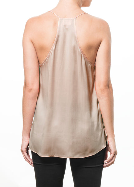 Cami NYC Racer Charmeuse In Champagne