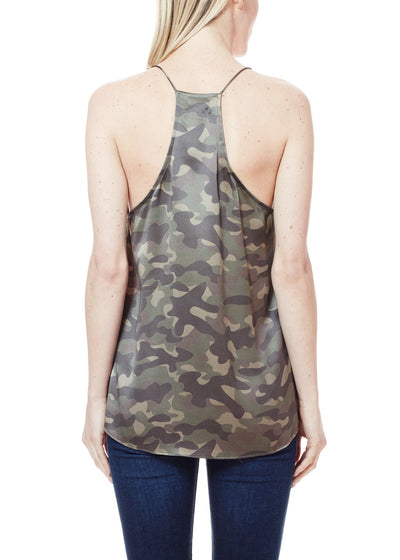 Cami NYC Racer Charmeuse in Camo
