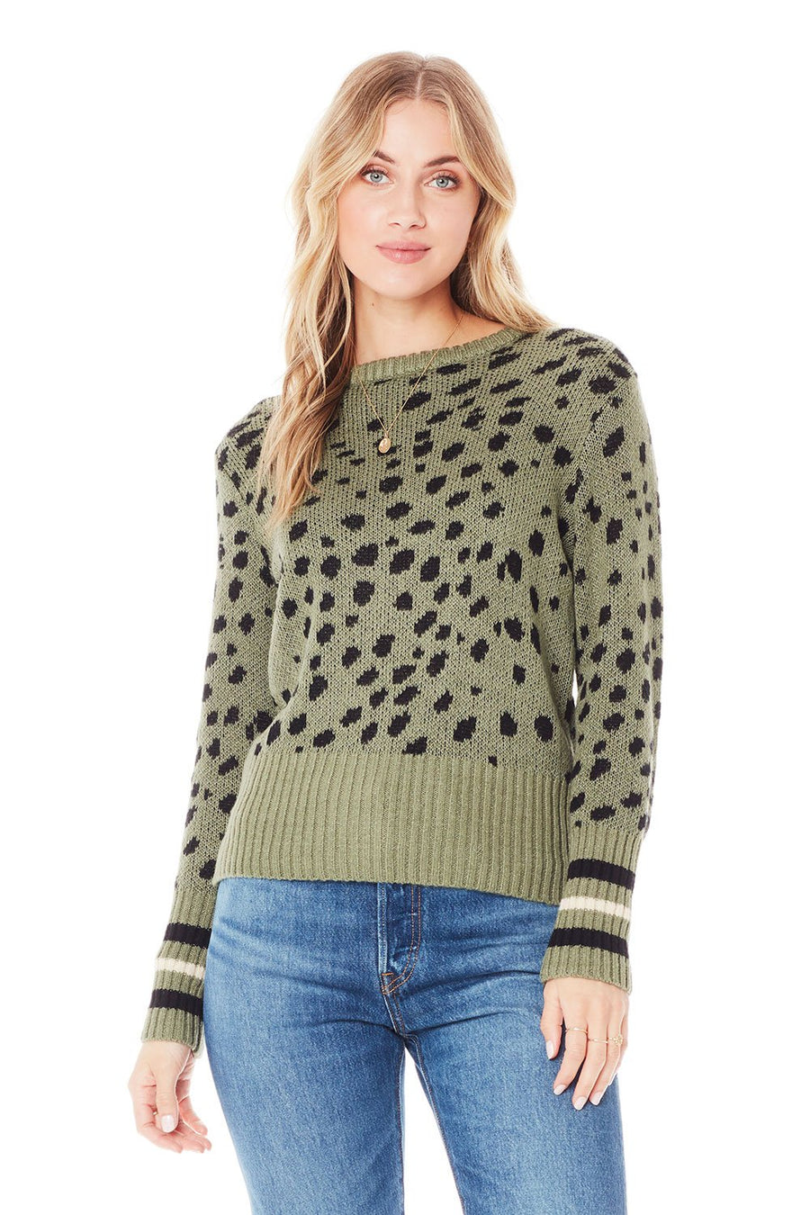 Saltwater Luxe Miles Sweater in Willow