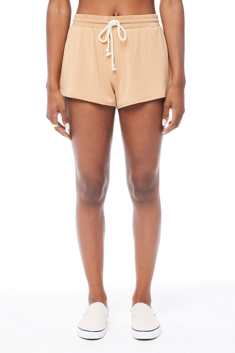 Saltwater Luxe Lounge Shorts in Pebble