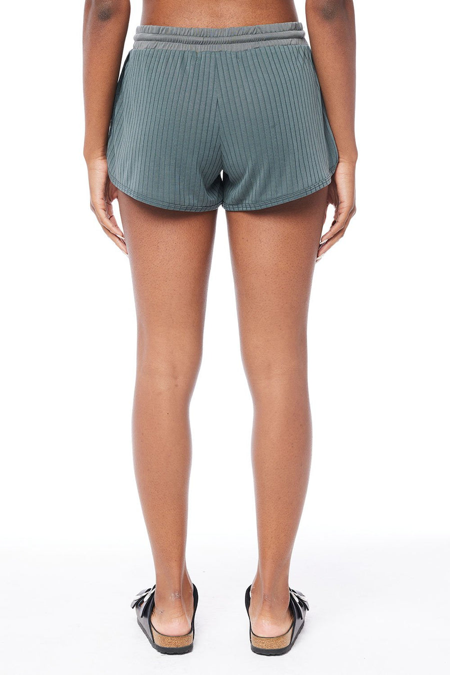 Saltwater Luxe Lounge Shorts in Shadow