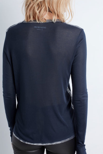 Zadig & Voltaire Willy Long Sleeve Tee
