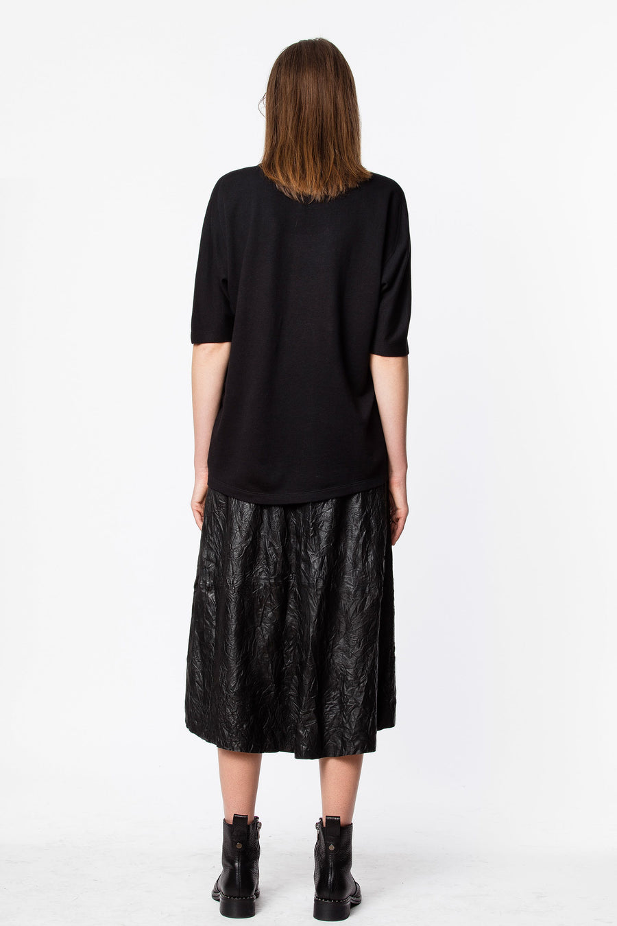 Zadig & Voltaire Joslin Leather Skirt
