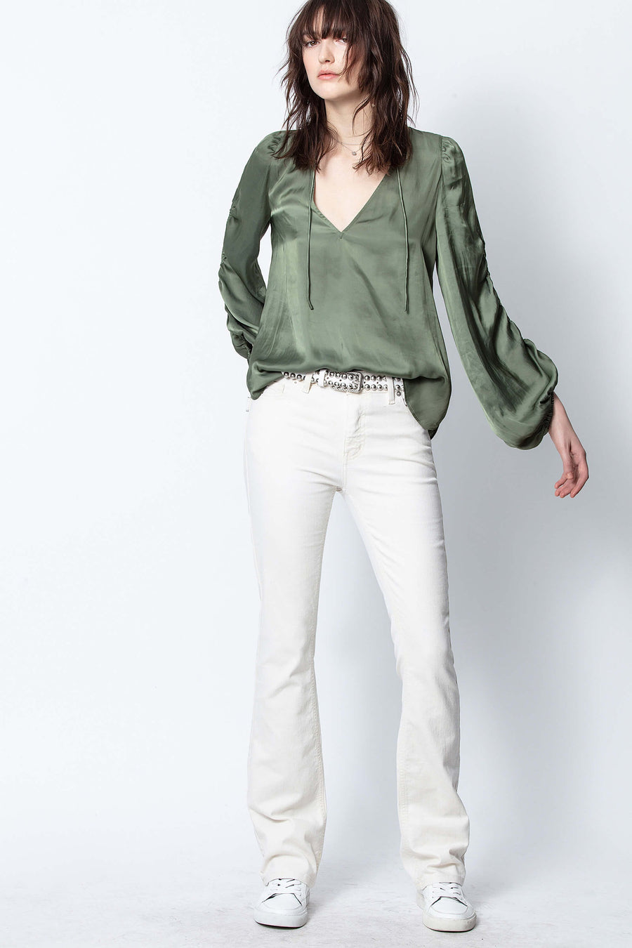 Zadig & Voltaire Twenty Satin Top