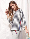 Sundry Long Sleeve Stripe Tee