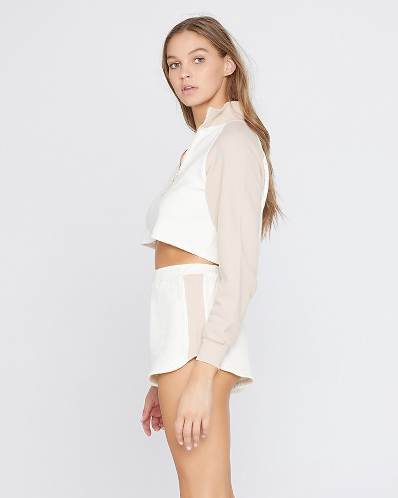 L Space Off Duty Shorts in Cream