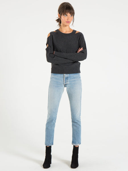 Philanthropy Portman Sweater in Nine Iron