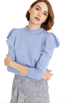 Misa Guthrie Sweater in Blueberry