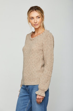 Sundays Juniper Sweater in Warm Flax