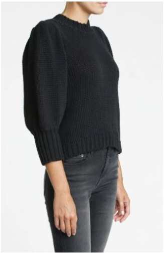 Pistola Gabby Sweater in Black