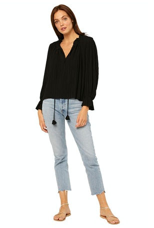 Misa Noa Top in Black