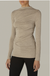 Enza Costa Lurex Jersey Long Sleeve Twist Top