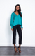 Karina Grimaldi Sunny Solid Top in Emerald