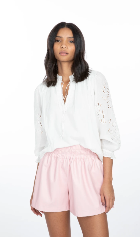 Generation Love Camila Embroidered Top