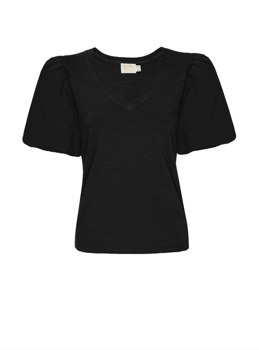 Nation Traci Top in Black
