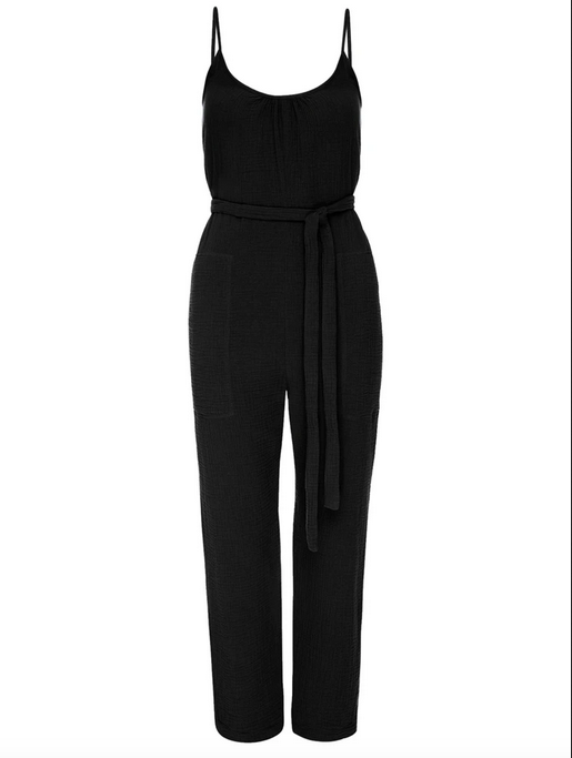 Nation Seneca Jumpsuit in Black