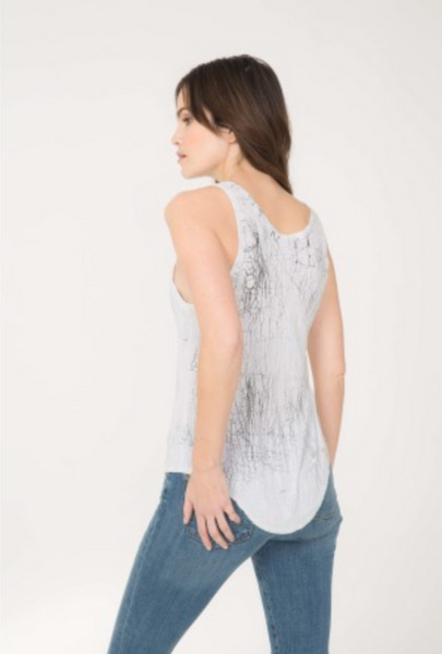 Feel The Piece Aria Tank - Fracture Wash - Estilo Boutique